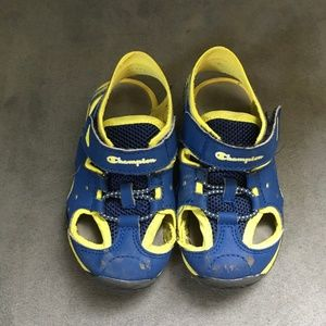 TODDLER Champion Sandal Sneakers SIZE 8.5